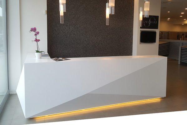 Contract SSolid Surface Showroom Salaroli Napoli